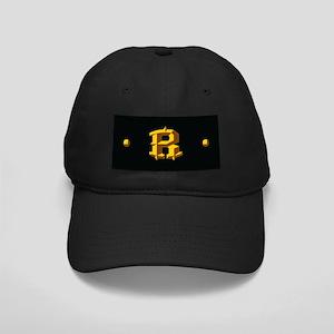 Monogram R Black Cap