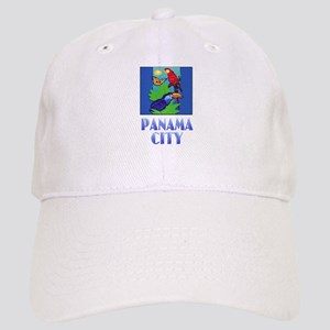 Macaw, Parrot, Butterfly, Jungle PANAMA CITY Cap