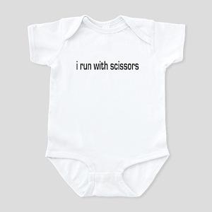 Run with scissors Infant Bodysuit