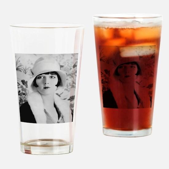louise brooks silent movie star Drinking Glass