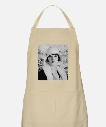 louise brooks silent movie star Apron
