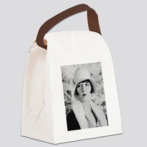louise brooks silent movie star Canvas Lunch Bag