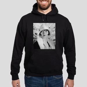 louise brooks silent movie star Hoodie (dark)