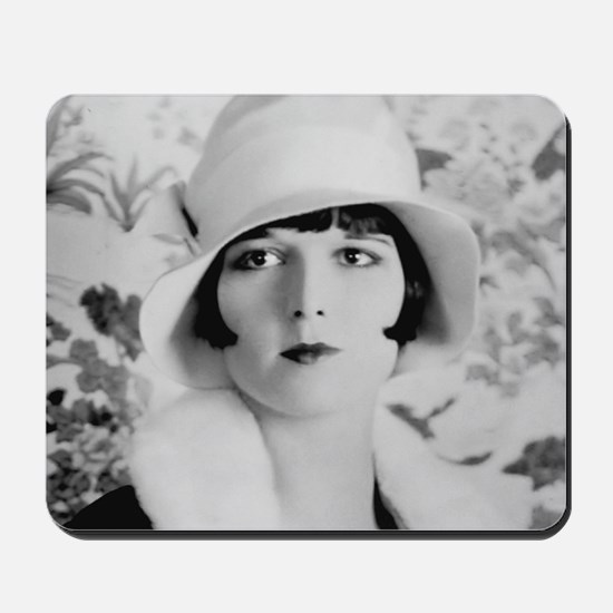 louise brooks silent movie star Mousepad