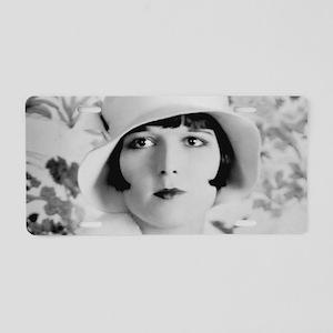 louise brooks silent movie Aluminum License Plate