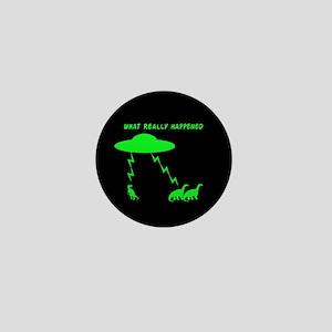 Funny Dinosaur Mini Button