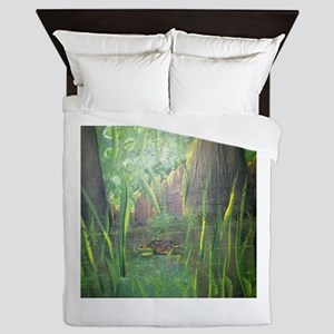 Turtle to Grow Queen Duvet