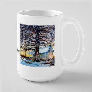 Cabin Fever Large Mug Mugs