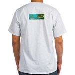 Smallmouth Bass Ash Grey T-Shirt