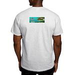 Smallmouth Bass Ash Grey T-Shirt