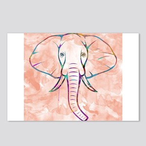 Elephant Watercolor Postcards (Package of 8)