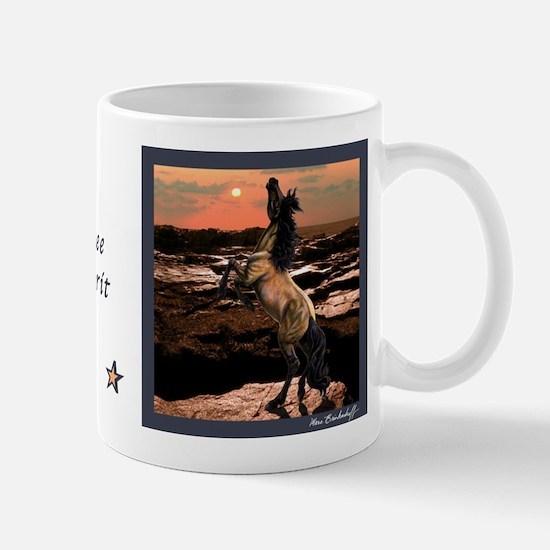 Wild Mustang ~ Horse ~ Small Mug