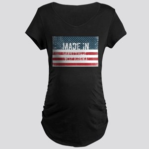 Made in Fayetteville, West Virgi Maternity T-Shirt