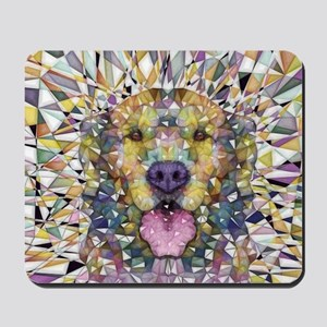 Rainbow Dog Mousepad