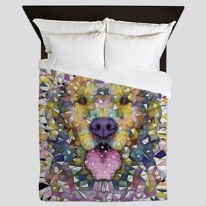 Rainbow Dog Queen Duvet