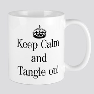 Keep Calm and Tangle On! Mugs