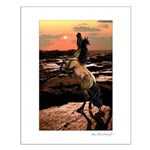 Wild Mustang ~ Horse ~ Small Poster