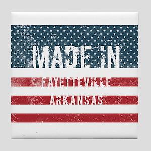 Made in Fayetteville, Arkansas Tile Coaster