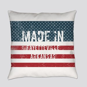Made in Fayetteville, Arkansas Everyday Pillow