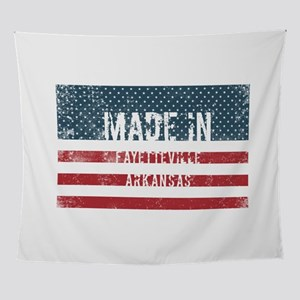 Made in Fayetteville, Arkansas Wall Tapestry