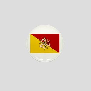 Sicily - Sicilian Flag Mini Button