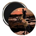 Wild Mustang ~ Horse ~ Magnet