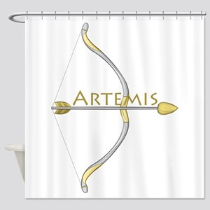 Bow of Artemis Shower Curtain