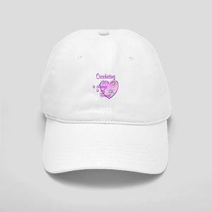 Crocheting Heart Cap