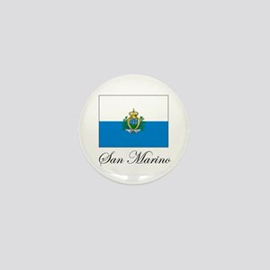 San Marino - Flag Mini Button