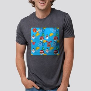 black santa taco christmas T-Shirt