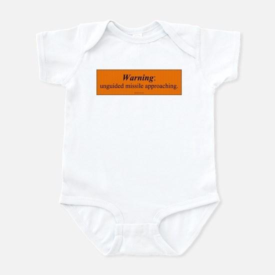 Unguided Missile Infant Bodysuit