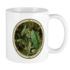 Earth Leaf Dragon Mugs