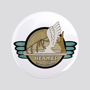 """Hermes Delivery Service 3.5"""" Button"""