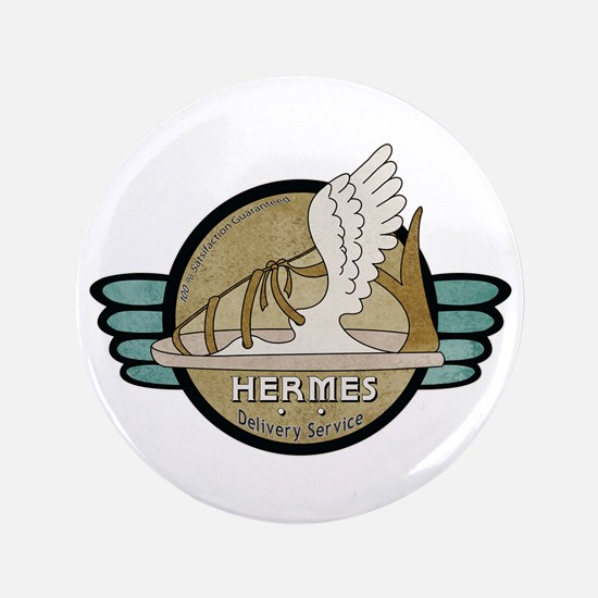 "Hermes Delivery Service 3.5"" Button"
