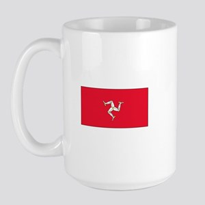 Isle of Man Flag Large Mug