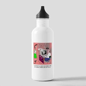 Computer Cartoon 9248 Stainless Water Bottle 1.0L