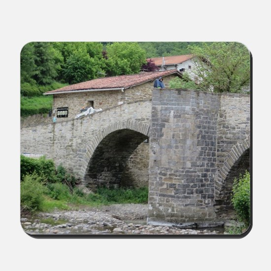 Bridge at Zubiri Mousepad