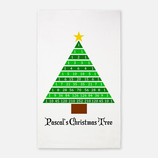 Pascal's Christmas Tree Area Rug