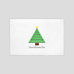 Pascal's Christmas Tree 4' x 6' Rug