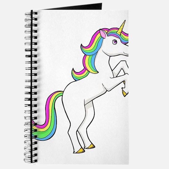 Rainbow Unicorns I love them Journal