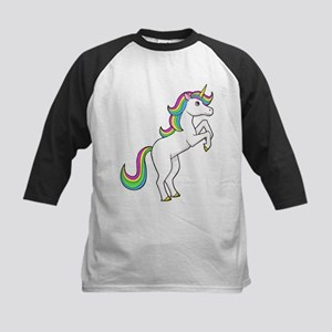 Rainbow Unicorns I love them Baseball Jersey