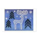 Lace Reindeer Postcards (Package of 8)