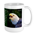 Eagle Heads With John 3:16 Mugs