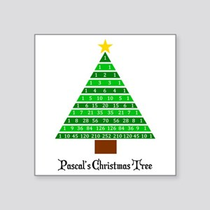 Pascal's Christmas Tree Sticker