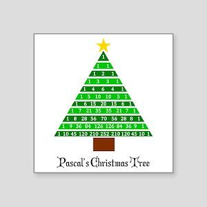 Pascal's Christmas Tree Sticker