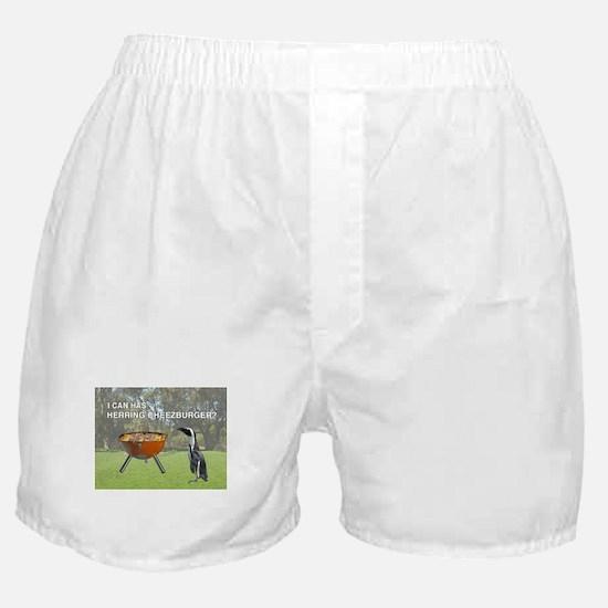 HERRING CHEEZBURGER Boxer Shorts