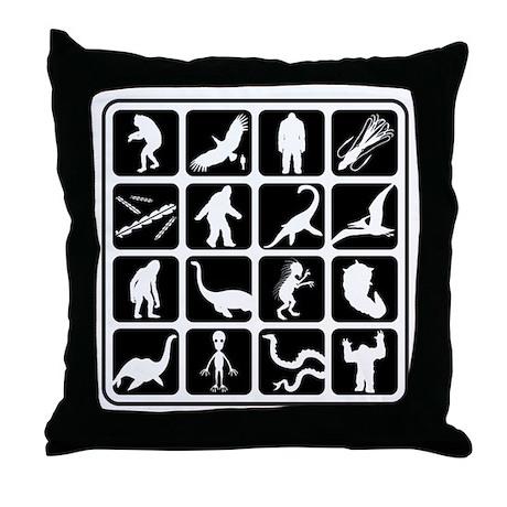 Cryptozoo Blocks Throw Pillow