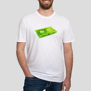 vintage cassette tape lime green T-Shirt