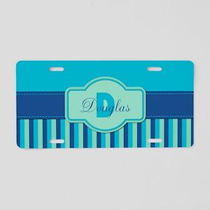 Stripes2015D2 Aluminum License Plate