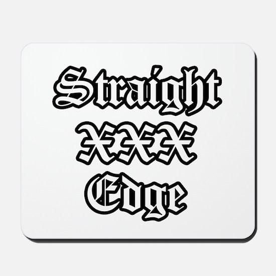 Straightedge Mousepad